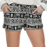 Juniors' Mudd® Peached Soft Shorts