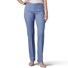 2c810879 Petite Lee Flex Motion Straight-Leg Mid-Rise Pants