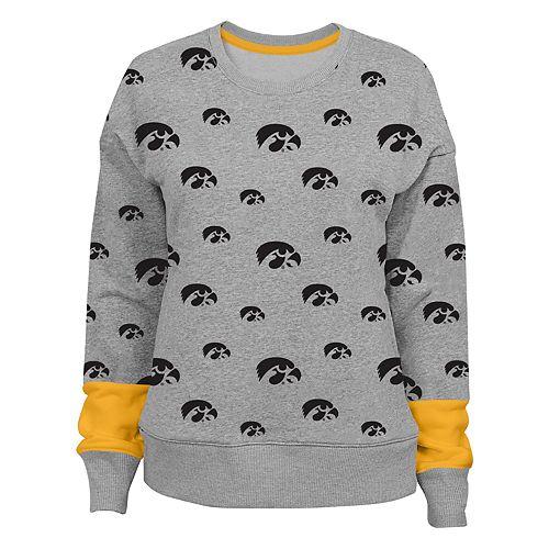 Women's Iowa Hawkeyes Team Fan Sweatshirt