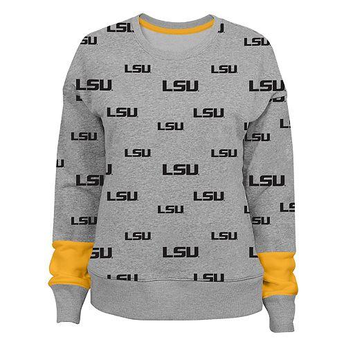 Women's LSU Tigers Team Fan Sweatshirt