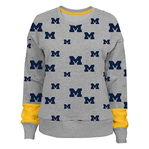 Women's Michigan Wolverines Team Fan Sweatshirt