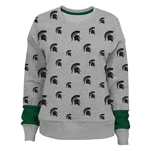 Women's Michigan State Spartans Team Fan Sweatshirt
