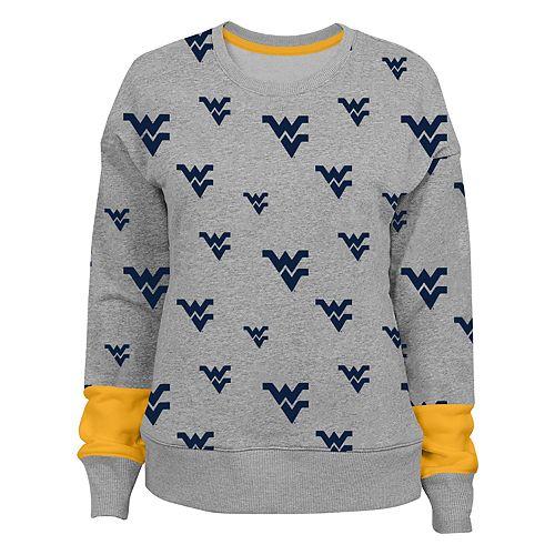 Juniors' West Virginia Mountaineers Team Fan Sweatshirt