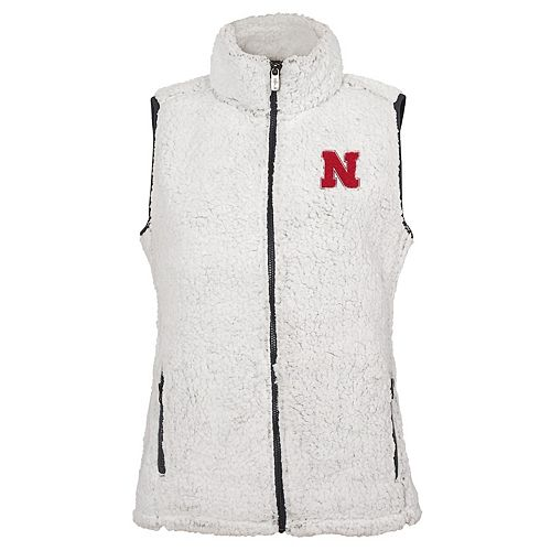 Women's Nebraska Cornhuskers Sherpa Vest