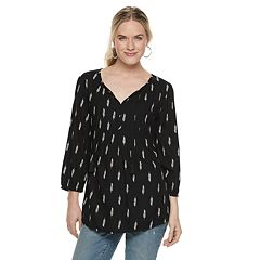 8599edb6658585 Womens SONOMA Goods for Life Peasant Tops Tops, Clothing | Kohl's
