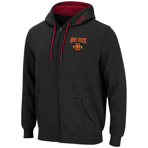 Men's Iowa State Cyclones Full-Zip Hoodie
