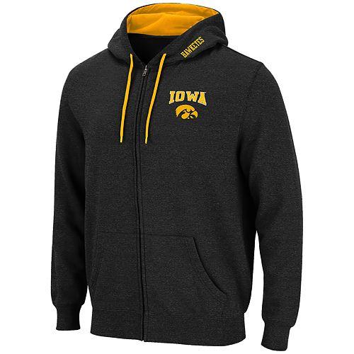 Men's Iowa Hawkeyes Full-Zip Hoodie