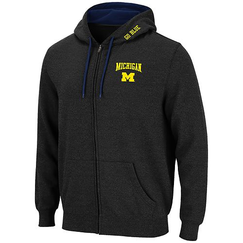 Men's Michigan Wolverines Full-Zip Hoodie