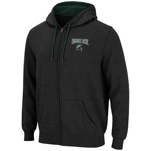 Men's Michigan State Spartans Full-Zip Hoodie