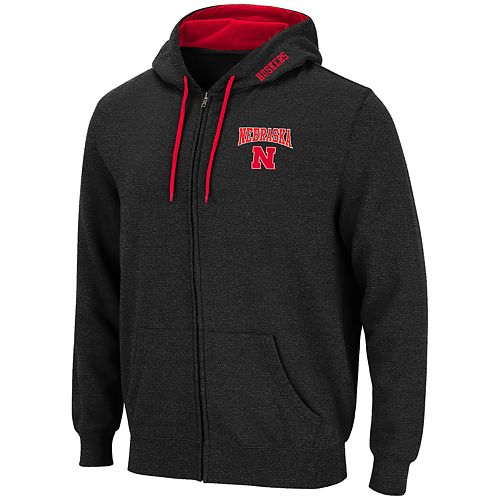 Men's Nebraska Cornhuskers Full-Zip Hoodie
