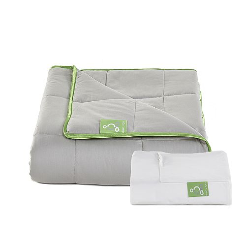 Sleep Yoga Weighted Blanket & Cotton Cover