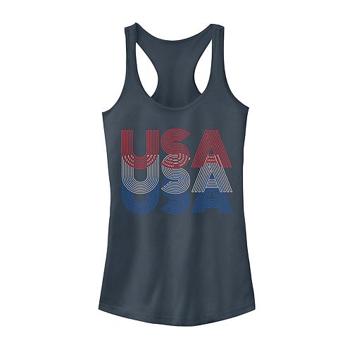 Juniors' USA Stack Tank