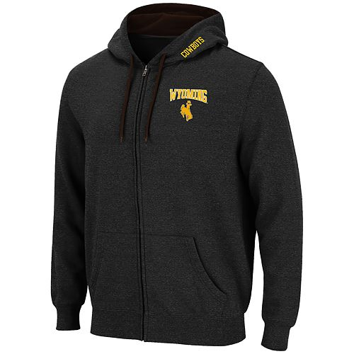 Men's Wyoming Cowboys Full-Zip Hoodie