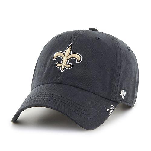 Women's NFL New Orleans Saints '47 Miata Clean Up Hat