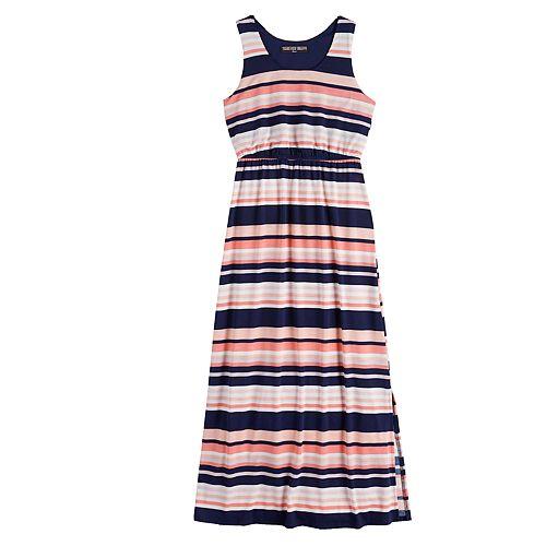 Girls 7-16 Printed Cameo Maxi Tank Dress
