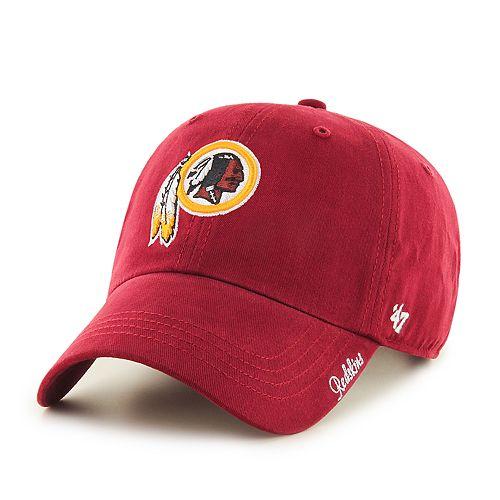 Women's NFL Washington Redskins '47 Miata Clean Up Hat