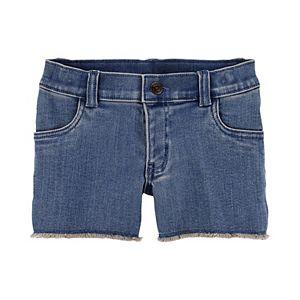 Girls 4-14 Carter's Denim Shorts