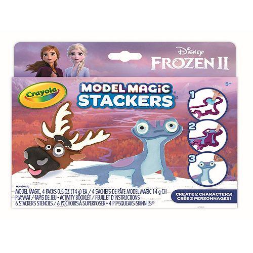 Disney's Frozen 2 Sven and Fire Salamander Model Magic Stackers Set by Crayola