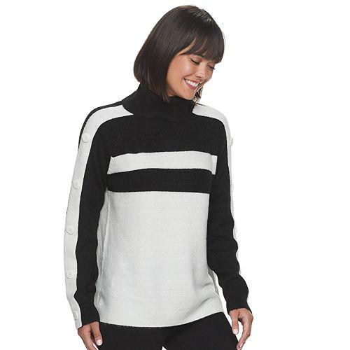 Women's Apt. 9® Turtleneck Jersey Sweater