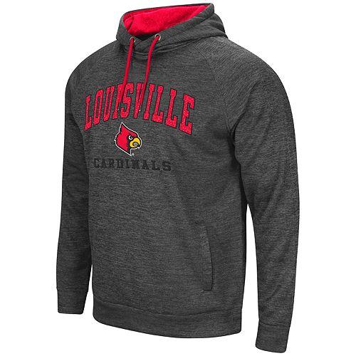 Men's Louisville Cardinals Teton Fleece Hoodie