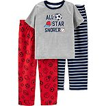 Boys 4-12 Carter's Top & Pants Pajama Set