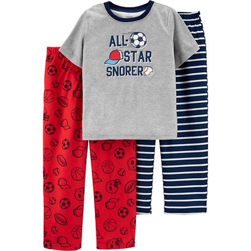 Boys 4-12 Carter's Top & Pants Pajama Set