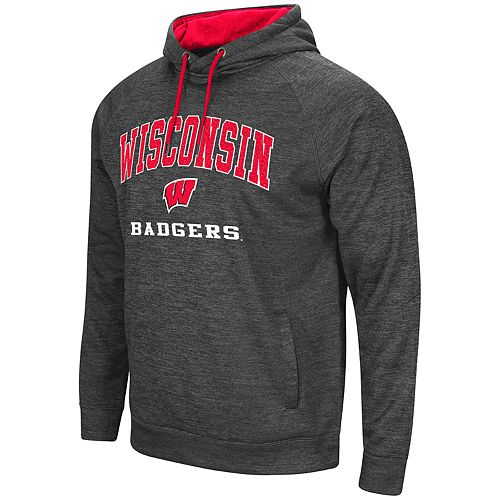 Men's Wisconsin Badgers Teton Fleece Hoodie
