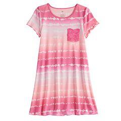 6a70ee692 Girls 7-16 & Plus Size SO® Crochet Pocket T-Shirt Dress