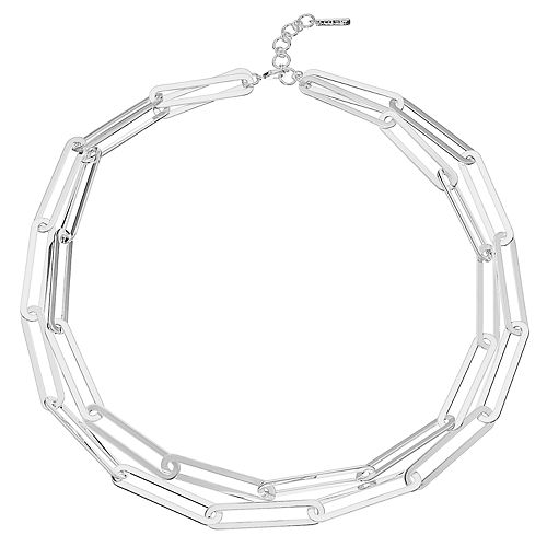 Nine West Double Strand Collar Necklace