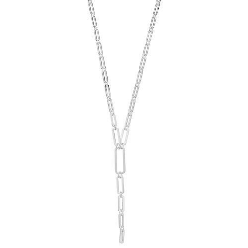 Nine West Link Y Necklace