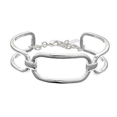 Nine West Link Cuff Bracelet