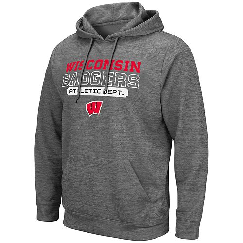 Men's Wisconsin Badgers Hayes Pullover Hoodie