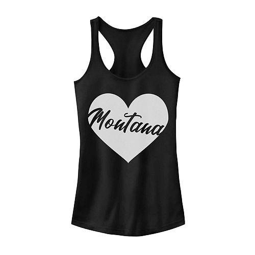 Juniors' Fifth Sun Montana Heart Tank Top