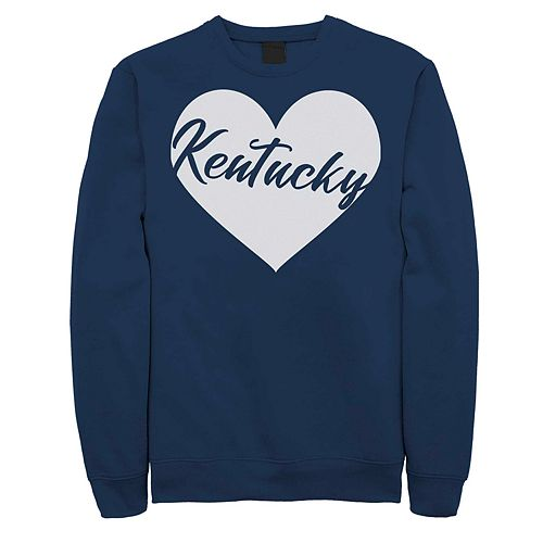 Juniors' Fifth Sun Kentucky Heart Fleece Top