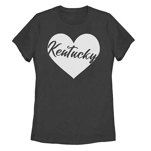 Juniors' Fifth Sun Kentucky Heart Graphic Tee