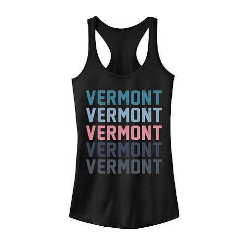 Juniors' Fifth Sun Vermont Colorful Stack Tank