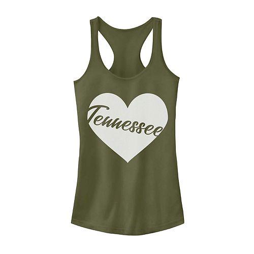 Juniors' Fifth Sun Tennessee Heart Tank