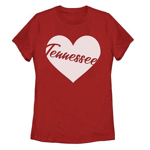 Juniors' Fifth Sun Tennessee Heart Tee