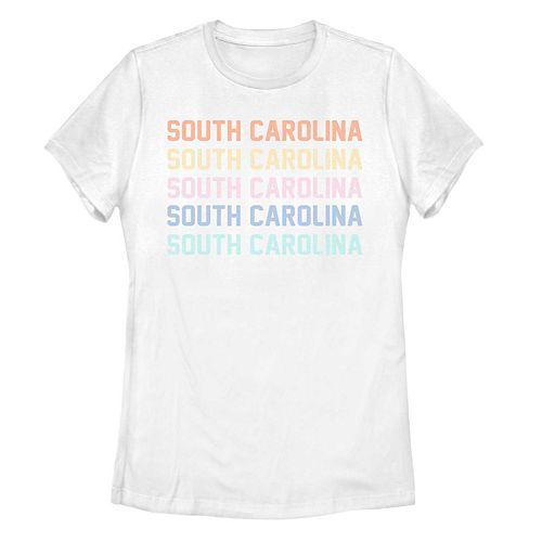Juniors' Fifth Sun South Carolina Colorful Stack Tee