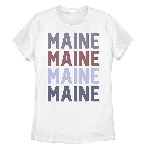 Juniors' Fifth Sun Maine Colorful Stack Tee