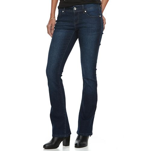 Women's Apt. 9® Heavily Embellished Tummy Control Bootcut Jeans