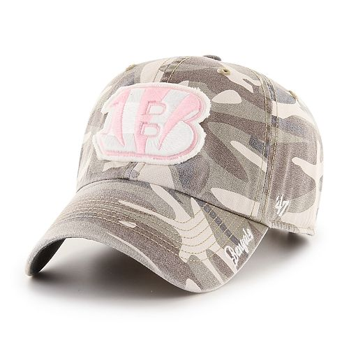 Women's '47 Brand Cincinnati Bengals Miata Adjustable Cap