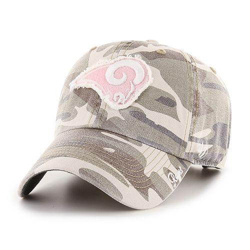 Women's '47 Brand Los Angeles Rams Miata Adjustable Cap