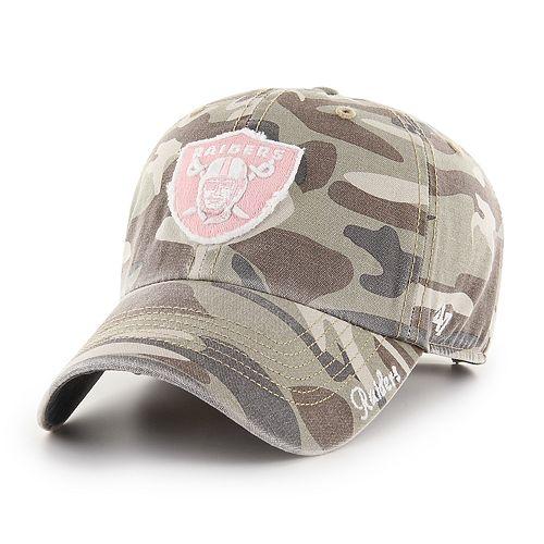 Women's '47 Brand Oakland Raiders Miata Adjustable Cap