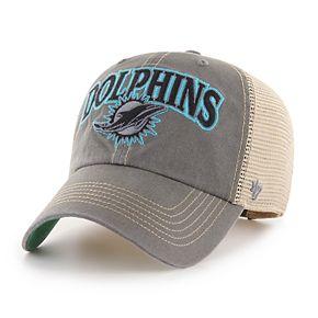 Adult '47 Brand Miami Dolphins Tuscaloosa Adjustable Cap