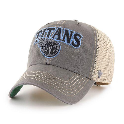 Adult '47 Brand Tennessee Titans Tuscaloosa Adjustable Cap