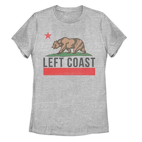 "Juniors' Fifth Sun California ""Left Coast"" Tee Shirt"