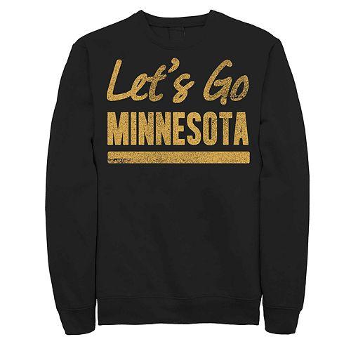 "Juniors' Fifth Sun ""Lets Go Minnesota"" Fleece Top"