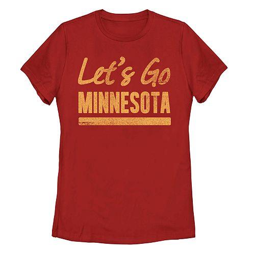 "Juniors' Fifth Sun ""Lets Go Minnesota"" Tee"