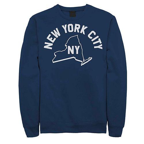 Juniors' Fifth Sun New York City Fleece Top